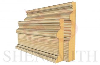 2059 profile Pine Skirting Board