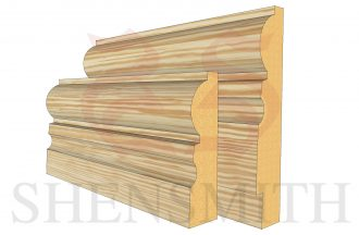 323 Pine Skirting Board
