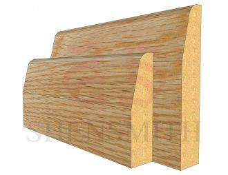 chamfered Oak Skirting Board
