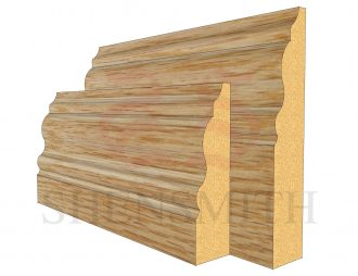 330 Oak Skirting Board