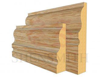 327 Oak Skirting Board