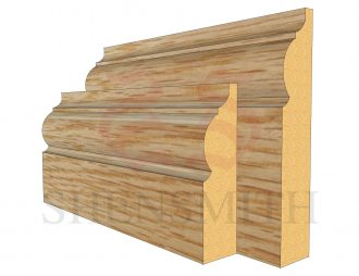 324 Oak Skirting Board