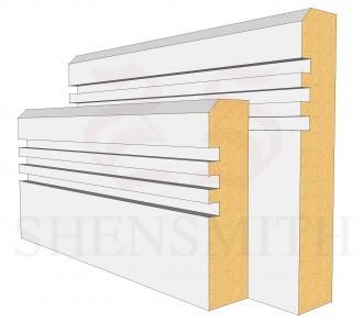 Modern 2 Profile Skirting Board