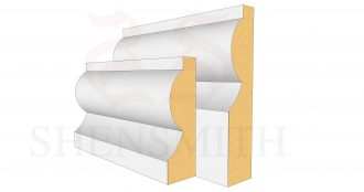 Torus Profile Skirting Board