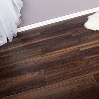 222m2-Domestic-Commercial-AC4-Laminate-Flooring-Dark-Walnut-8mm-0