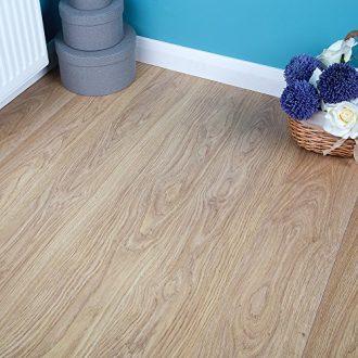 250m2-Commercial-AC3-Laminate-Flooring-Light-Varnished-Oak-6mm-0