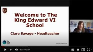 Year 8 Headteacher video message for parents click for video