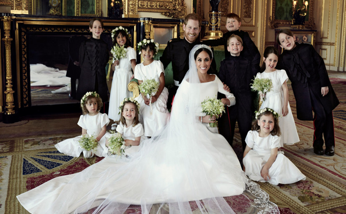 meghan markle royal wedding family photo