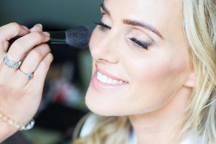 Sarah Lindsay Wedding Makeup