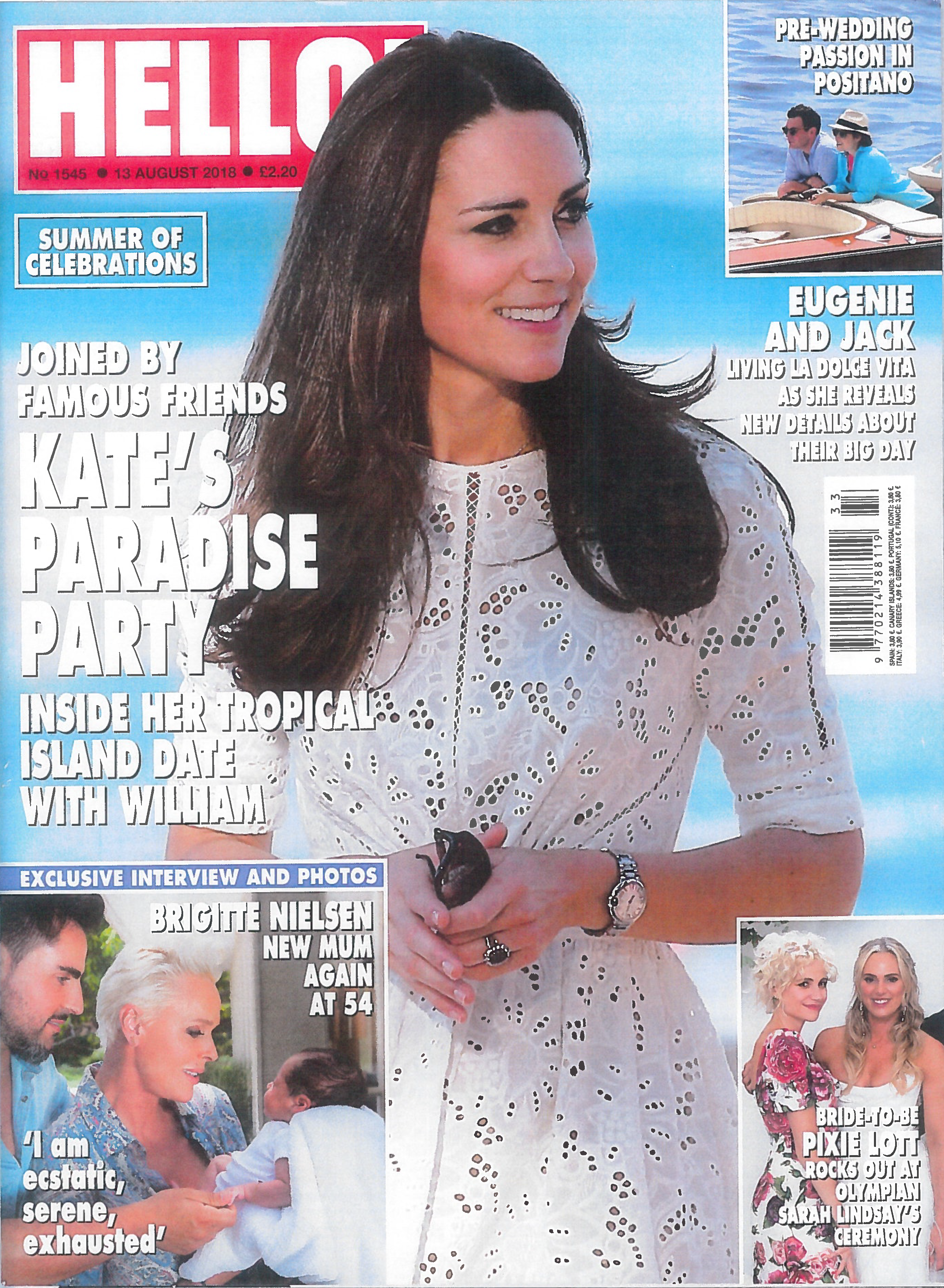 Snapdragon plans Sarah Lindsay Rich Phillipps Wedding as seen in Hello Magazine Interview with the bride