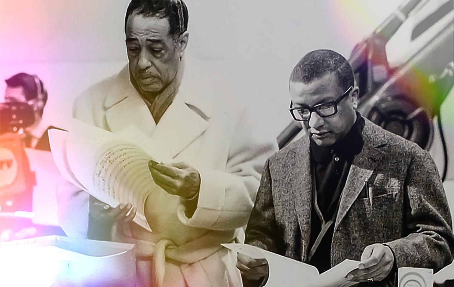Duke Ellington and Billy Strayhorn
