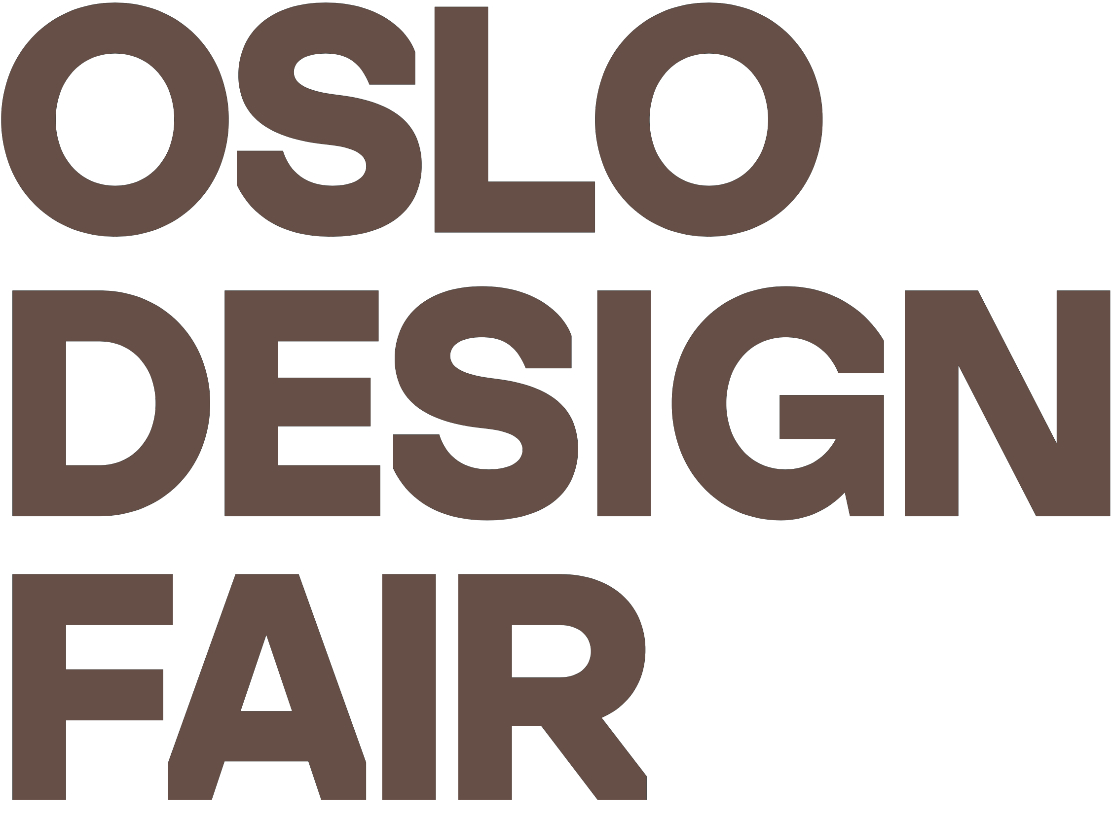 OSLO DESIGN FAIR logo