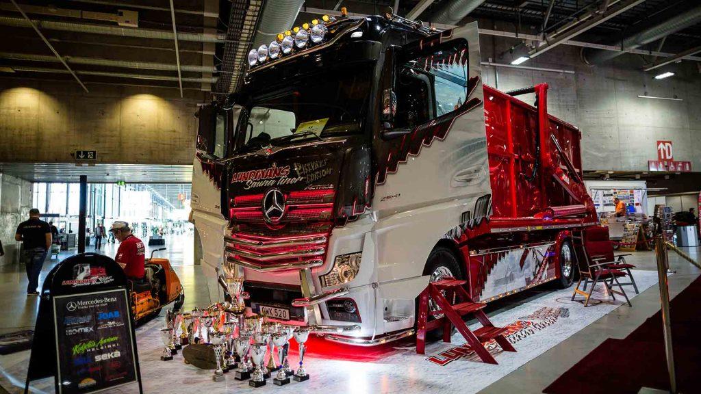 Scandinavian Truck Trophy på Oslo Motor Show.
