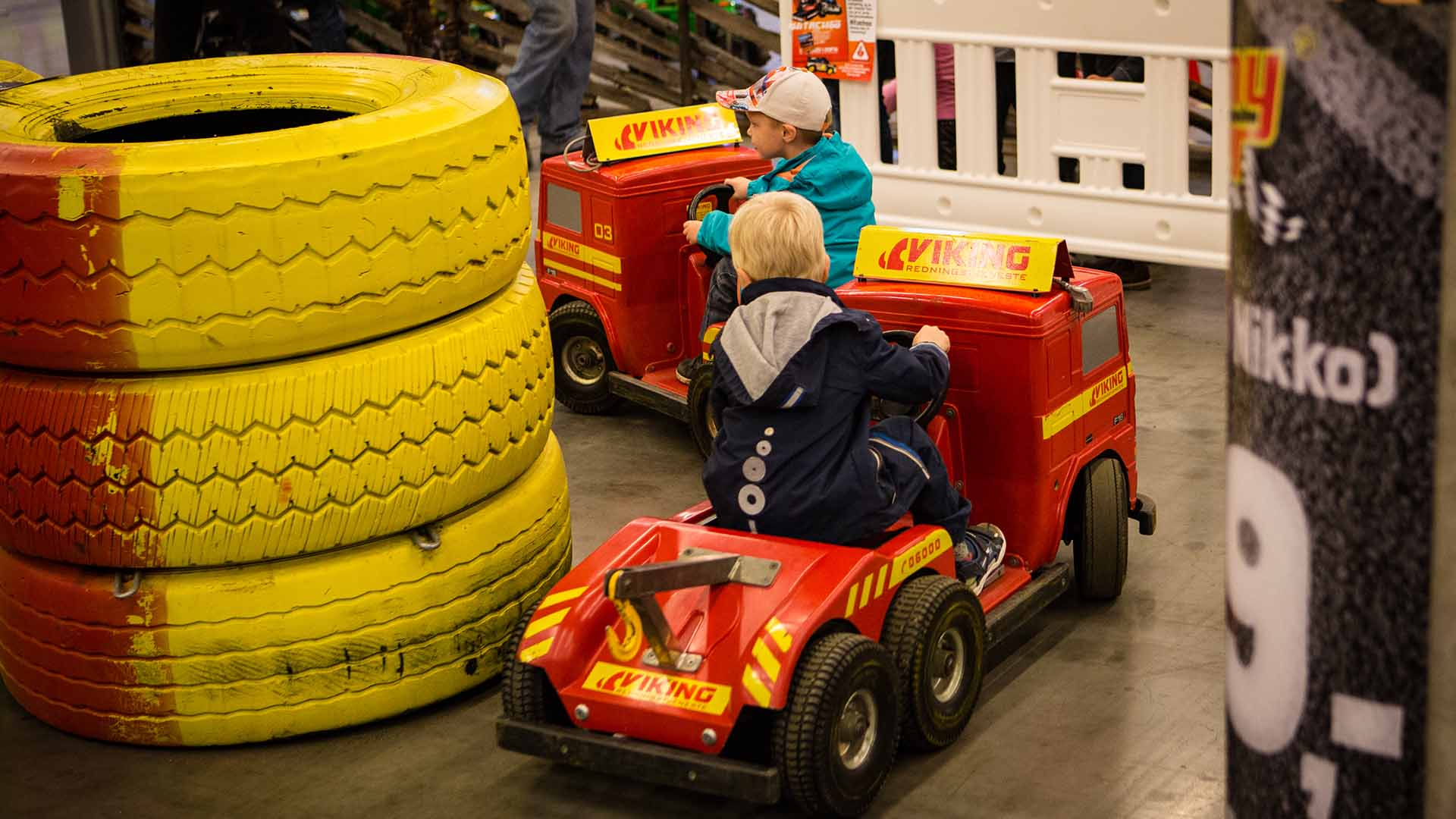 Aktiviteter for små og store motorentusiaster på Oslo Motor Show.