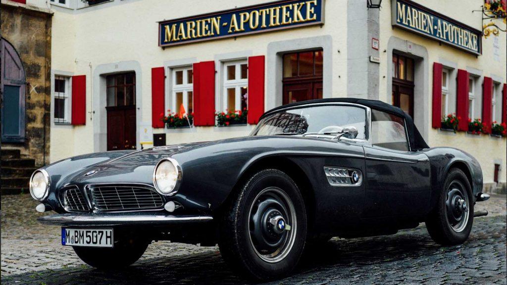 Meget sjelden BMW 507 kommer for første gang til Norge direkte fra BMW museet i Mûnchen.