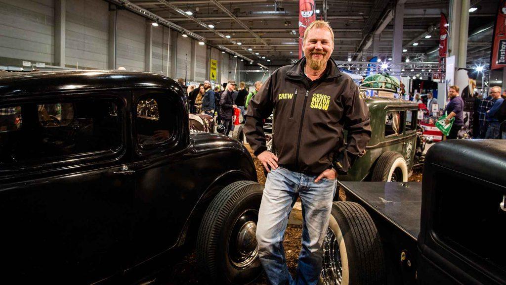 Tommy Larssen, prosjektleder for Oslo Motor Show gleder seg til å åpne dørene 27. oktober.