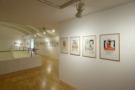 Alasdair Gray: Gray Stuff - Designs for Books and Posters 1952-2007, Talbot Rice Gallery, Edinburgh, 2010