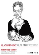 GRAYA103615 Alasdair Gray: 'Gray Stuff - Designs for Books and Posters 1952-2007', 2010