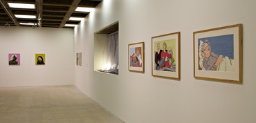 Alasdair Gray: The British Art Show 7: In the Days of the Comet, Hayward Gallery, London, 2011