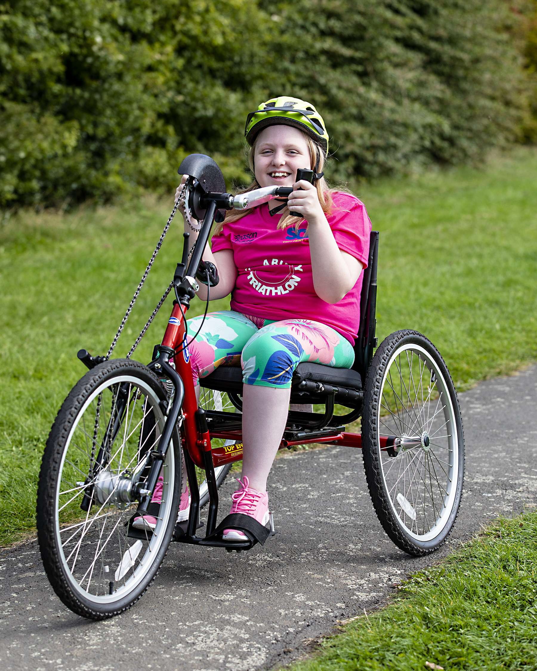 SOS group sponsors children disability triathlon