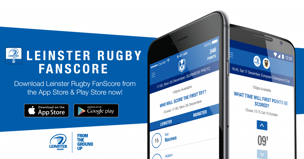 Leinster Rugby FanScore