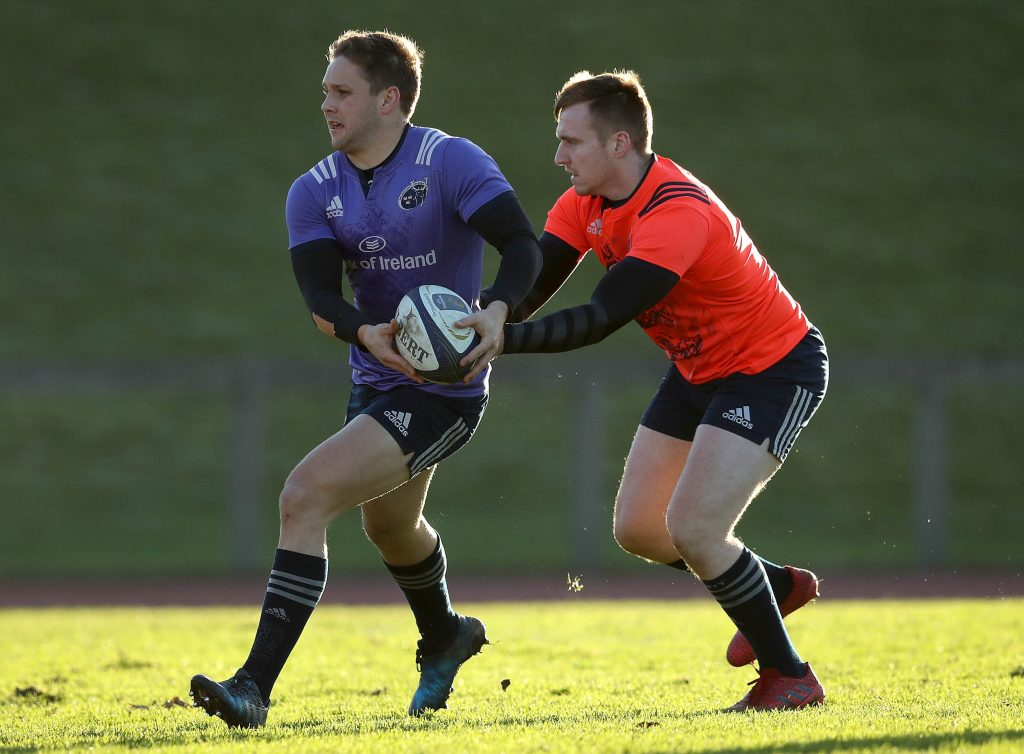 David Johnston who captained a Munster Development XV to victory over Ireland U20 during the festive period.