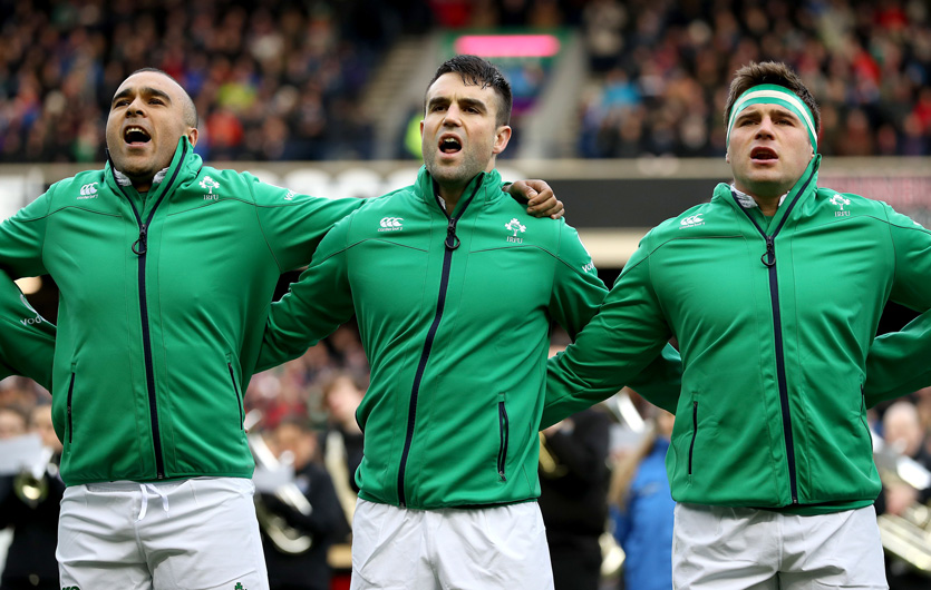 Simon Zebo, Conor Murray and CJ Stander will all start for Ireland on Friday night.