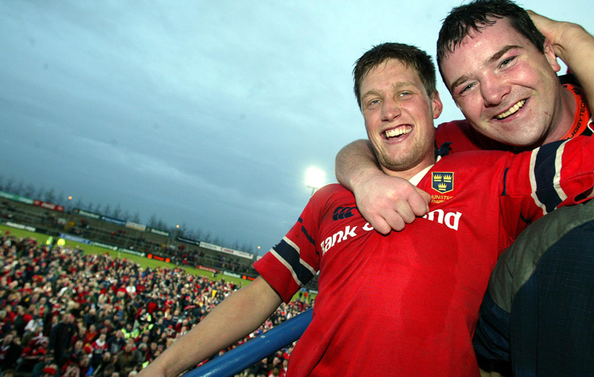 Ronan O'Gara will take to the field in memory of Axel on Friday night.