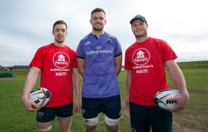 Darren Sweetnam, Dave Foley and Tyler Bleyendaal lend their support to Haven.