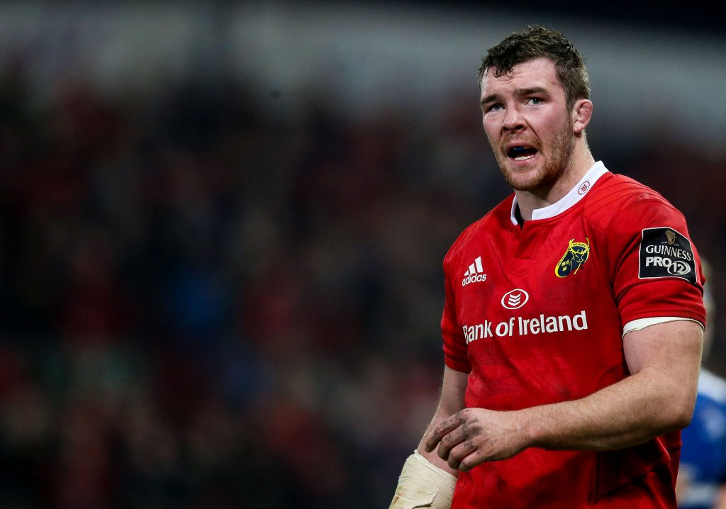Munster Captain Peter O'Mahony returns for Munster v Zebre ©INPHO/Tommy Dickson