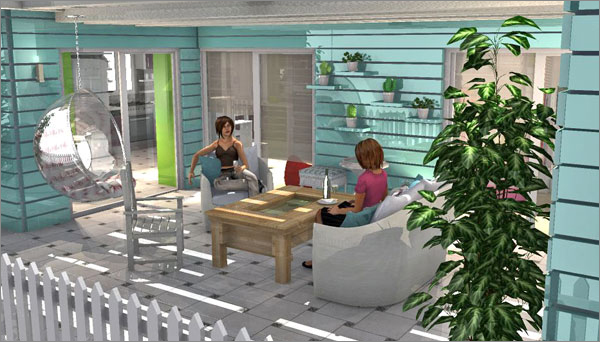 HomeByMe is a 3D online space planning service developed by 3DVIA.
