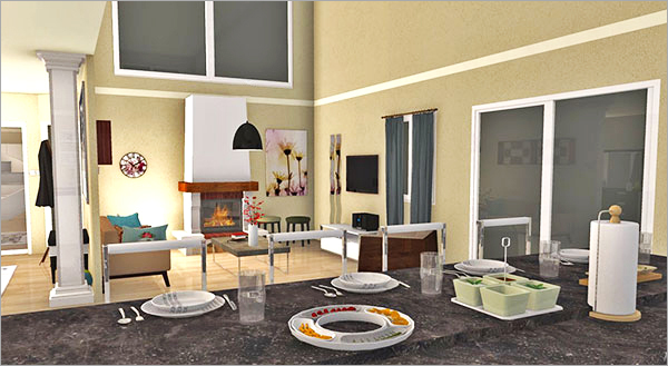 Winner of HomeByMe March Project of the Month