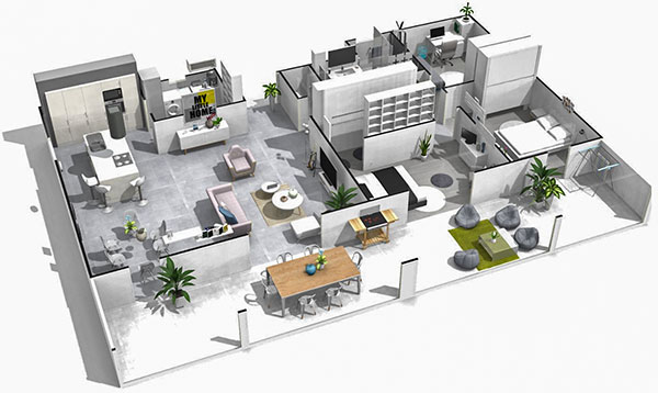 HomeByMe helps bring your interior design ideas to life in 3D
