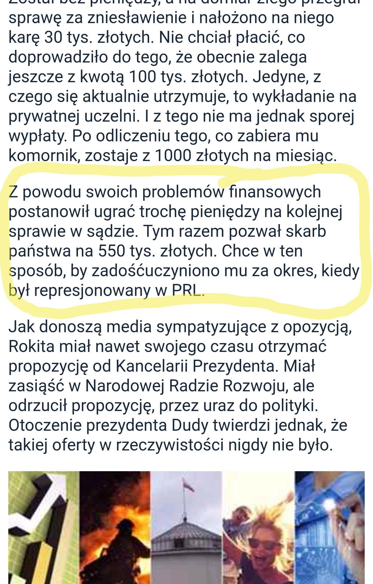 Były gwiazdor polskiej polityki klepie totalną biedę. Zarabia… 1000 złotych!