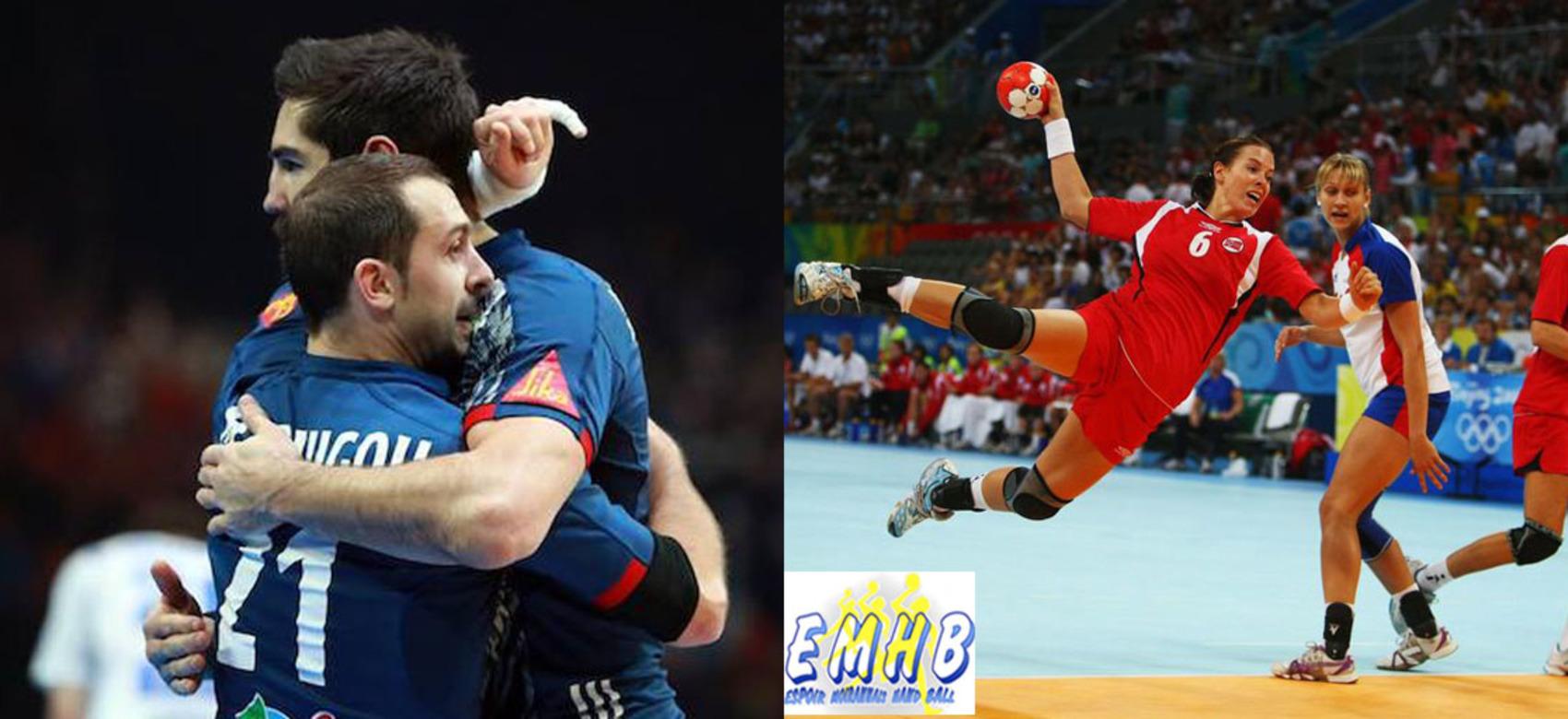 Template photos stage handball