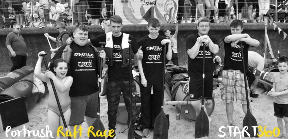 Fundraising Portrush Raft Race