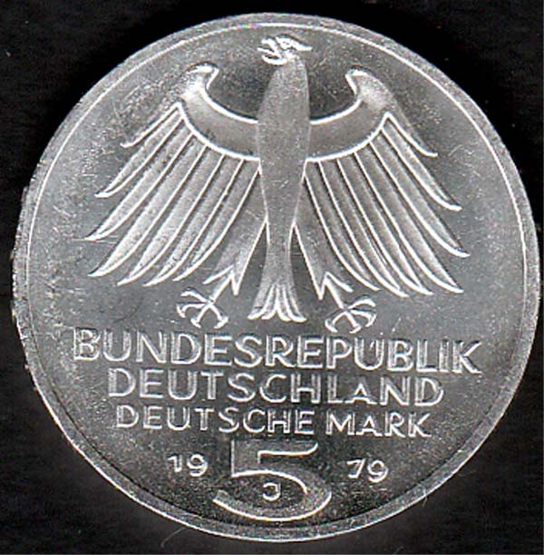 5 Dm Archäologisches Institut 1979 Briefmarken Großheide Osnabrück