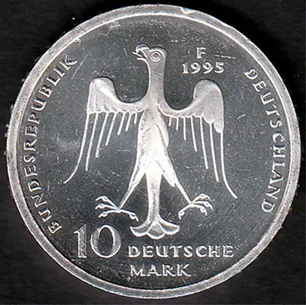 10 Dm Heinrich Der Löwe 1995 Briefmarken Großheide Osnabrück
