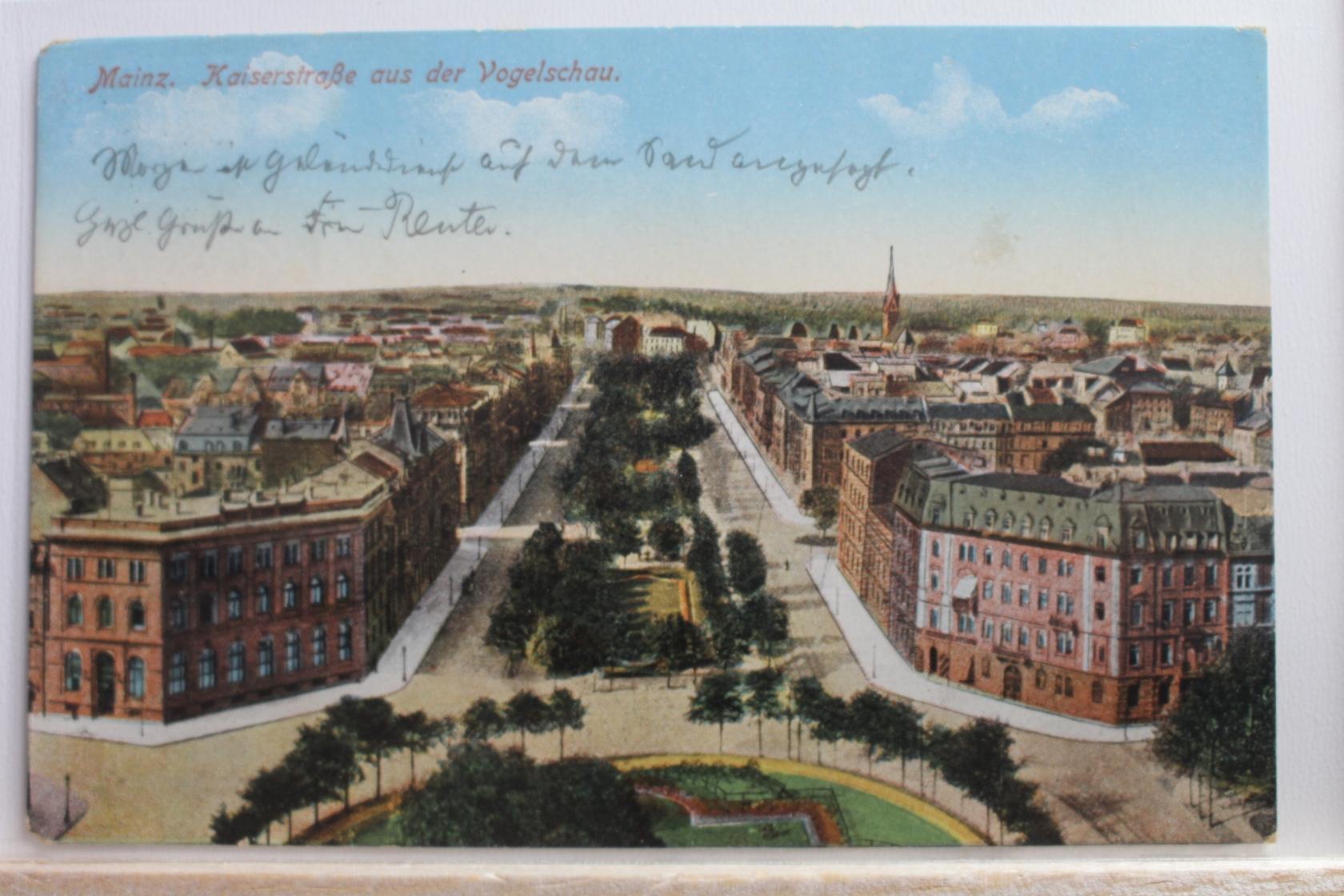 Marktplatz Aus Der Vogelschau 1914 Ak Amberg Sammeln & Seltenes Ansichtskarten