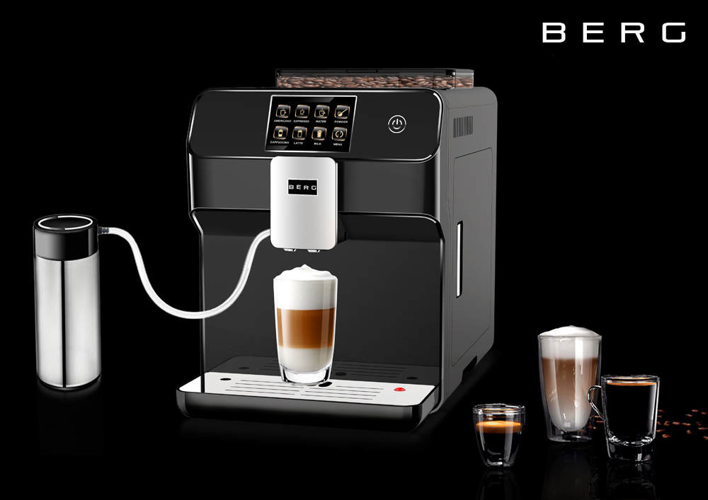 Berg Toccare Uno B One Touch Automatic Bean To Cup Coffee