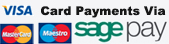 Card payments via Sage Pay