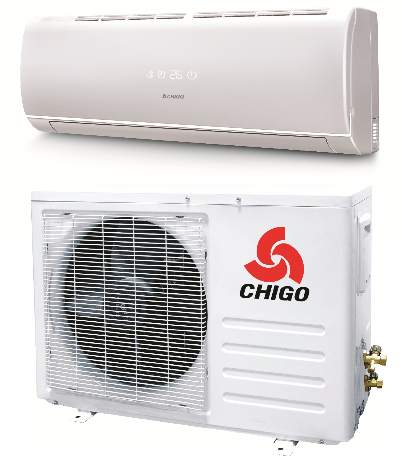 Chigo 18000 Btu 19 Seer Mini Split Heat Pump Air Conditioner #B41C17