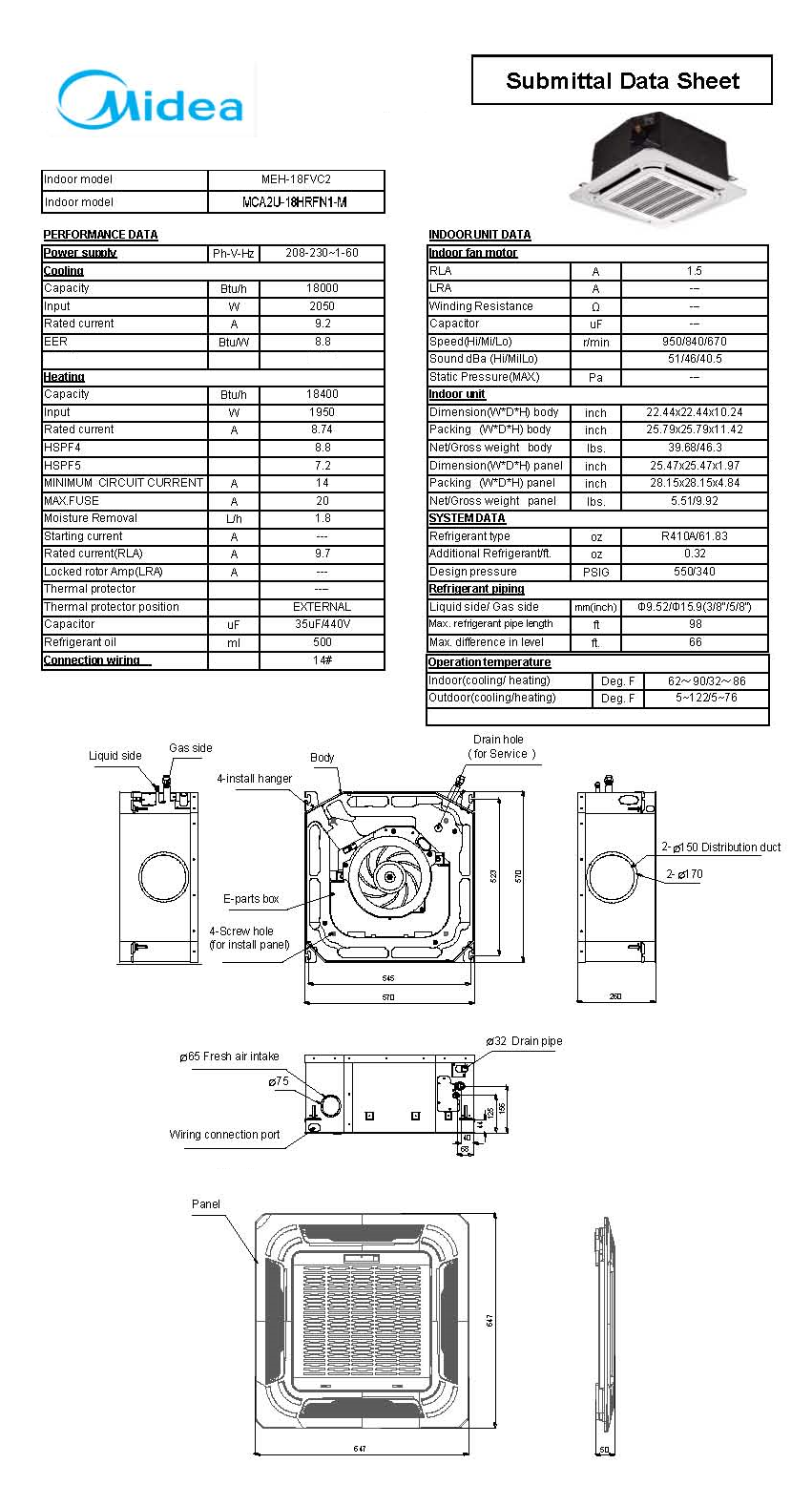 daikin mini split diagram