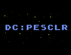 Star Raiders DC:PESCLR with starfield
