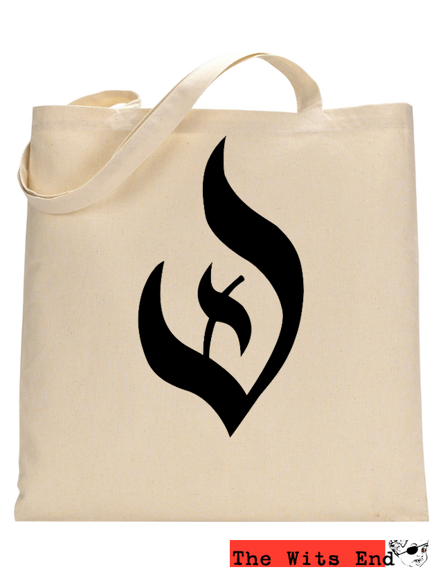 Deism Symbol example canvas tote
