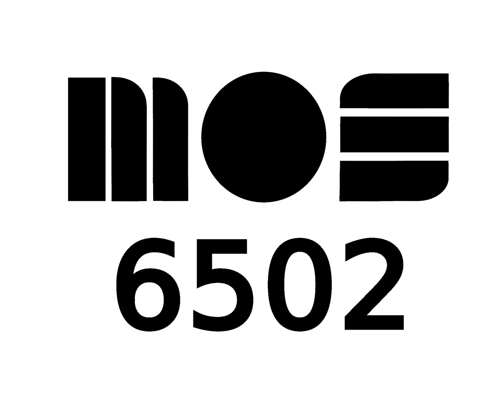 MOS 6502 tee shirt design example