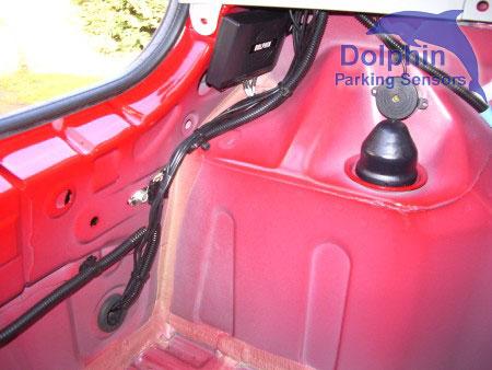 wiring inside car