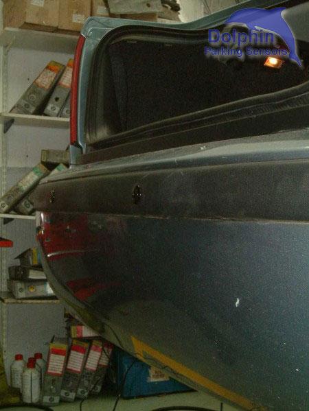 view along the bumper