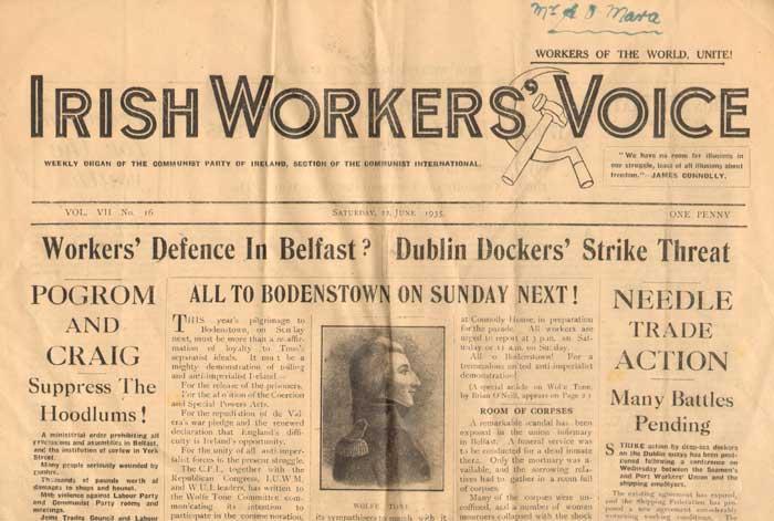 Irish Workers Voice