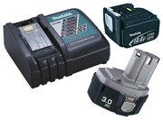 Akku oplader & batteri
